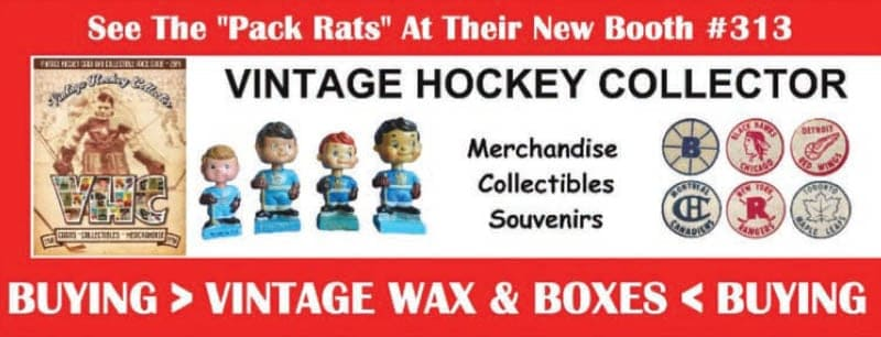 SCME18 NOV Ad Vintage Hockey Collector - Magazine